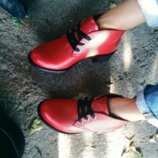 Ботинки из натуральной кожи замши