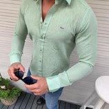 Рубашки мужские Lacoste