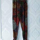 M/L Модные фирменные натуральные летние штаны