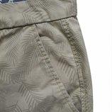 Мужские шорты в узорчик беж F&F 36