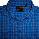 Мужская рубашка безрукавка в мелкую клетку Mammut 2XL XL оригинал