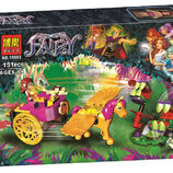 Конструктор Bela Fairy 10693 Побег Азари из леса гоблинов 151дет аналог Lego Elves 41186