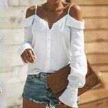 Стильная блуза 42 - 46 две расцветки