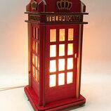Соляной светильник Телефонная будка