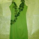 Прокат. Платье Весны , Лесной нимфы , Лесной феи 5-10 лет и М 46 размер