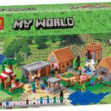 Конструктор Bela 10531 Деревня 1622детали аналог Lego Майнкрафт, Minecraft 21128