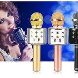 Микрофон DM Karaoke черный Q-858