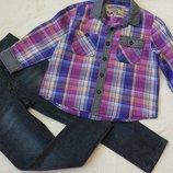 Big sale Комплект набор рубашка и джинсы скинни на 2-4 года