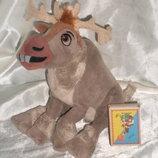 шикарная мягкая игрушка Олень Свен Холодное сердце Disney Posh Paws Англия оригинал