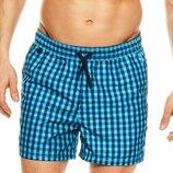 Мужские пляжные шорты в клеточку HENDERSON