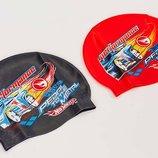 Шапочка для плавания детская Arena Hot Wheels Power Machine 91466 силикон, 2 цвета
