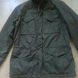 куртка зимняя парка хаки, фирма l.o.g.g, размер м