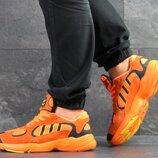 Adidas Yung кроссовки мужские демисезонные оранжевые 7602