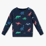 Детский свитшот для мальчика с динозаврами C&A Palomino Германия Размер 128