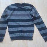 свитер полосатый на 12 лет, рост 146/152 см, фирма nkd