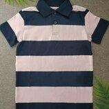 Футболка поло для мальчика 2-4 года футболочка H&M футболка