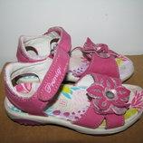 Босоножки сандалии фирменные шикарные кожа Primigi Оригинал Германия р.26 стелька 16,5 см