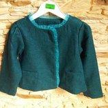 Укороченный пиджак Pusblu Германия на 4-10 лет размеры 110-140