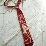 Новогодний галстук с мелодией