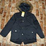 куртка деми парка еврозима 4-5лет Pepperts новая большой выбор одежды 1-16лет