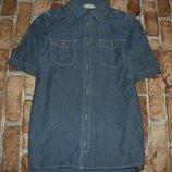 рубашка котон лето 12-13лет Нм сток большой выбор одежды 1-16лет