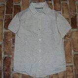 рубашка котон лето 9лет Блузоо большой выбор одежды 1-16лет