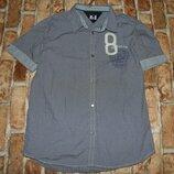 рубашка котон лето 14лет Томми Хелфигер большой выбор одежды 1-16лет