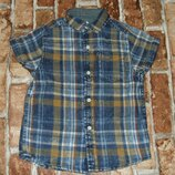 рубашка котон лето 3года Некст большой выбор одежды 1-16лет