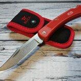 Складной нож от компании Buck knives. Модель 110 Folding Hunter LT The Smoke Jumper. Оригинал.