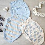 Набор бодиков для новорожденного малыша боди человечек Mothercare боди для мальчика бодик