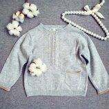 Весенний свитер для девочки 3-6 мес свитерок свитер для девочки свитшот