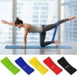 Резинки для фитнеса, фитнес эспандер, кроссфит, резинка, петли, ленты, 5 резинок в наборе
