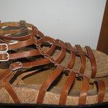 Босоножки сандалі брендові шкіряні UGG Australia Оригінал р.W8 стелька 25.5 см