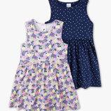Новый набор летних платьев, сарафанов р.128 фирмы Palomino C&A