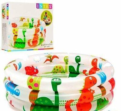 Детский надувной бассейн Intex 57106 Динозавр 61 х 22 см