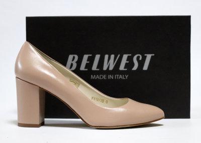 Туфли Belwest Италия, оригинал. Натуральная кожа. 36-40