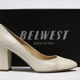 Туфли Belwest Италия, оригинал. Натуральная кожа. 35-41