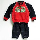 Спортивный хлопковый костюм на флисе Польша р.74