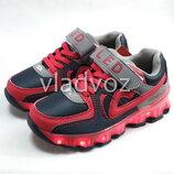 Детские светящиеся кроссовки с led подсветкой подошва для мальчика размеры от 28р. до 35р. 4098