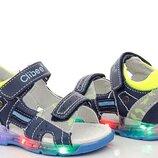 Босоножки для мальчиков с LED подсветкой