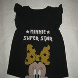 1,5-2 года, хлопковое платье Disney с Минни