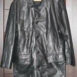 Кожаный пиджак из кожи nappa 50-52.