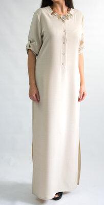 Платье туника длинное от бренда Adele Leroy
