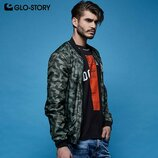 Стильные мужские ветровки - бомберы Glo-Story
