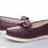 Туфли мокасины для девочки бренда Tom.M, р. 31-36 , код - 148
