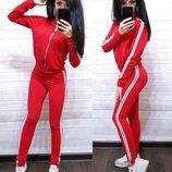 Женский спортивный костюм,4 цвета