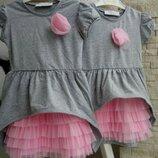 В наличии хорошенькие платья на девочек 3 -7 лет