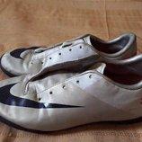 Кроссовки футзалки фирменные Nike Mercurial р.38-24см.