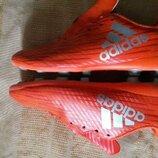 Бутсы копочки фирменные Adidas р.34-21см.
