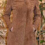 Жіночий замшевий піджак пальто куртка 38 р. reserved